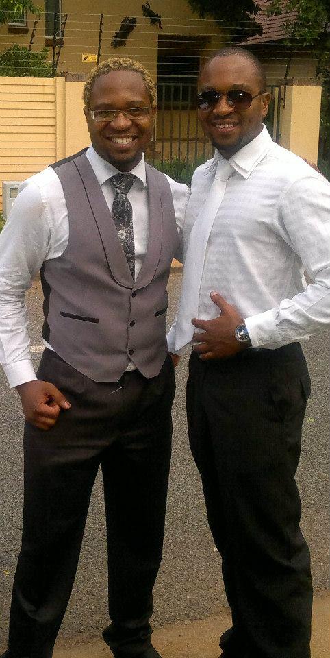 Michael and Brighton Wanjelani. Co-owners of B&M Entertainment.