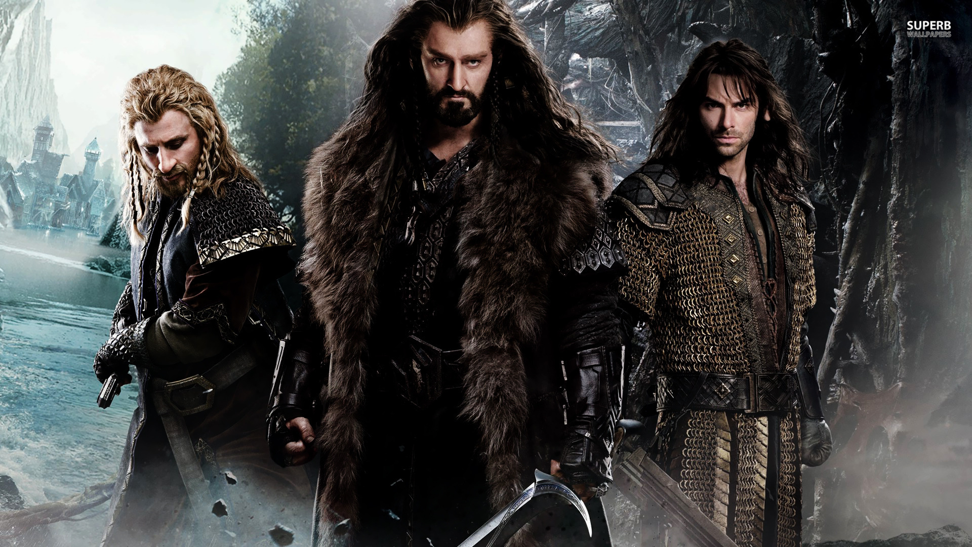 Some of the Warriors from The Hobbit. Picture taken from: walls-world.com