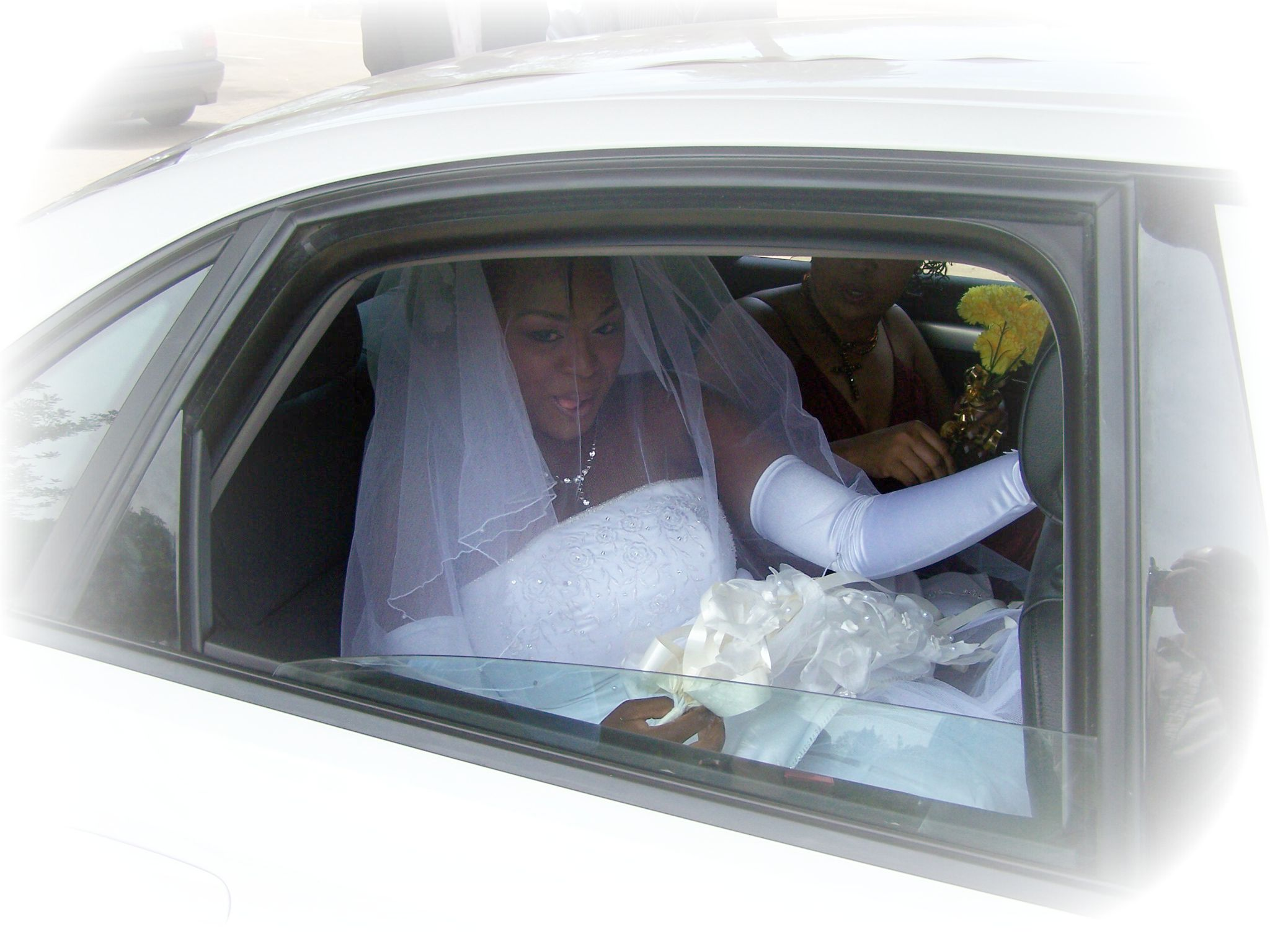 Wedding Dress Car Edited frost