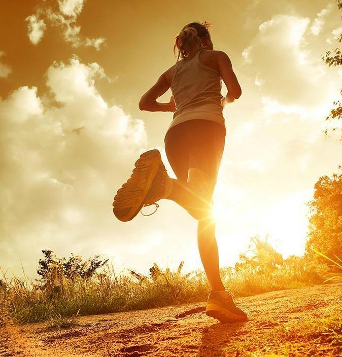 Woman Running Edited