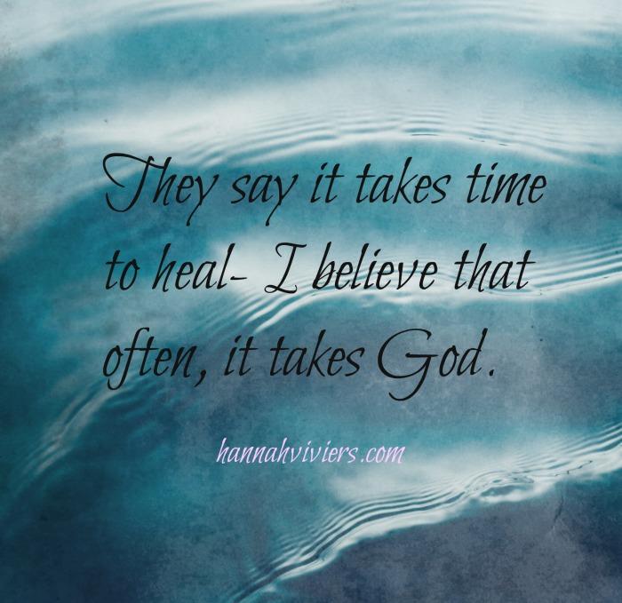 Often it takes God